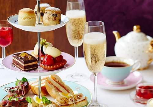 ymca prosecco afternoon tea