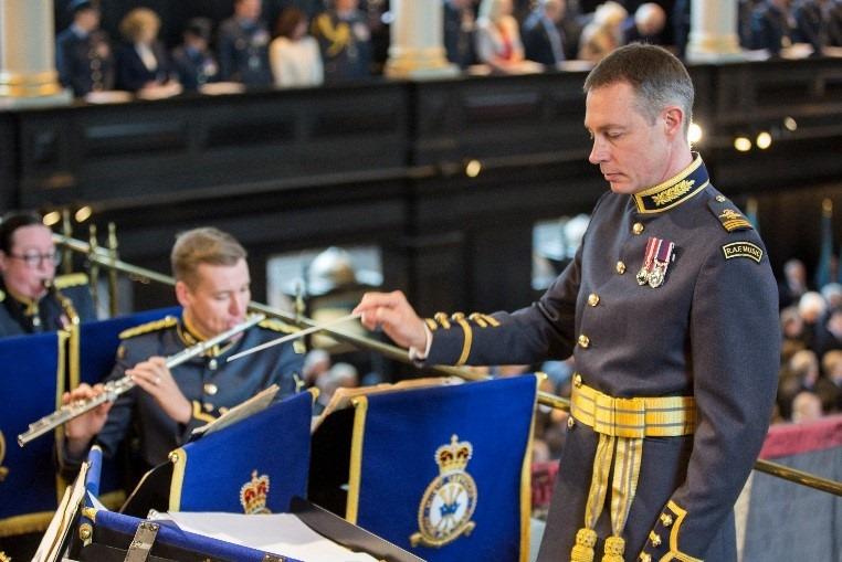 RAF regiment band