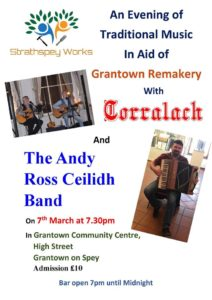 music event, concert, grantown on spey