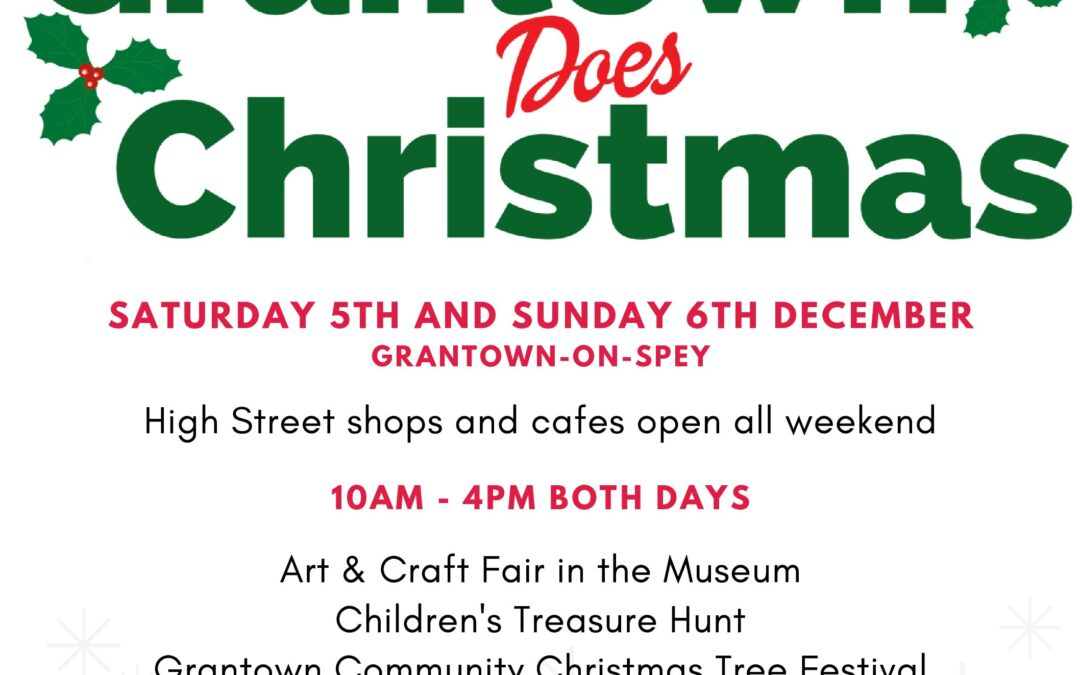 SM Advert – Grantown does Christmas!