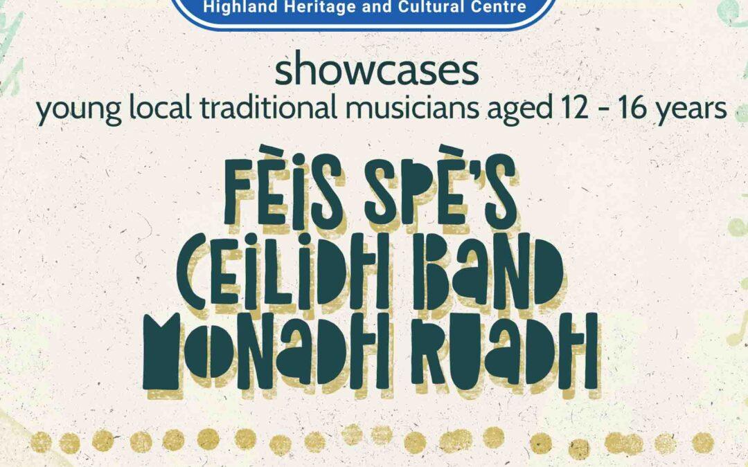 FÈIS SPÈ's Ceilidh Band Monadh Ruadh