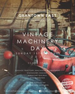 vintage machinery day