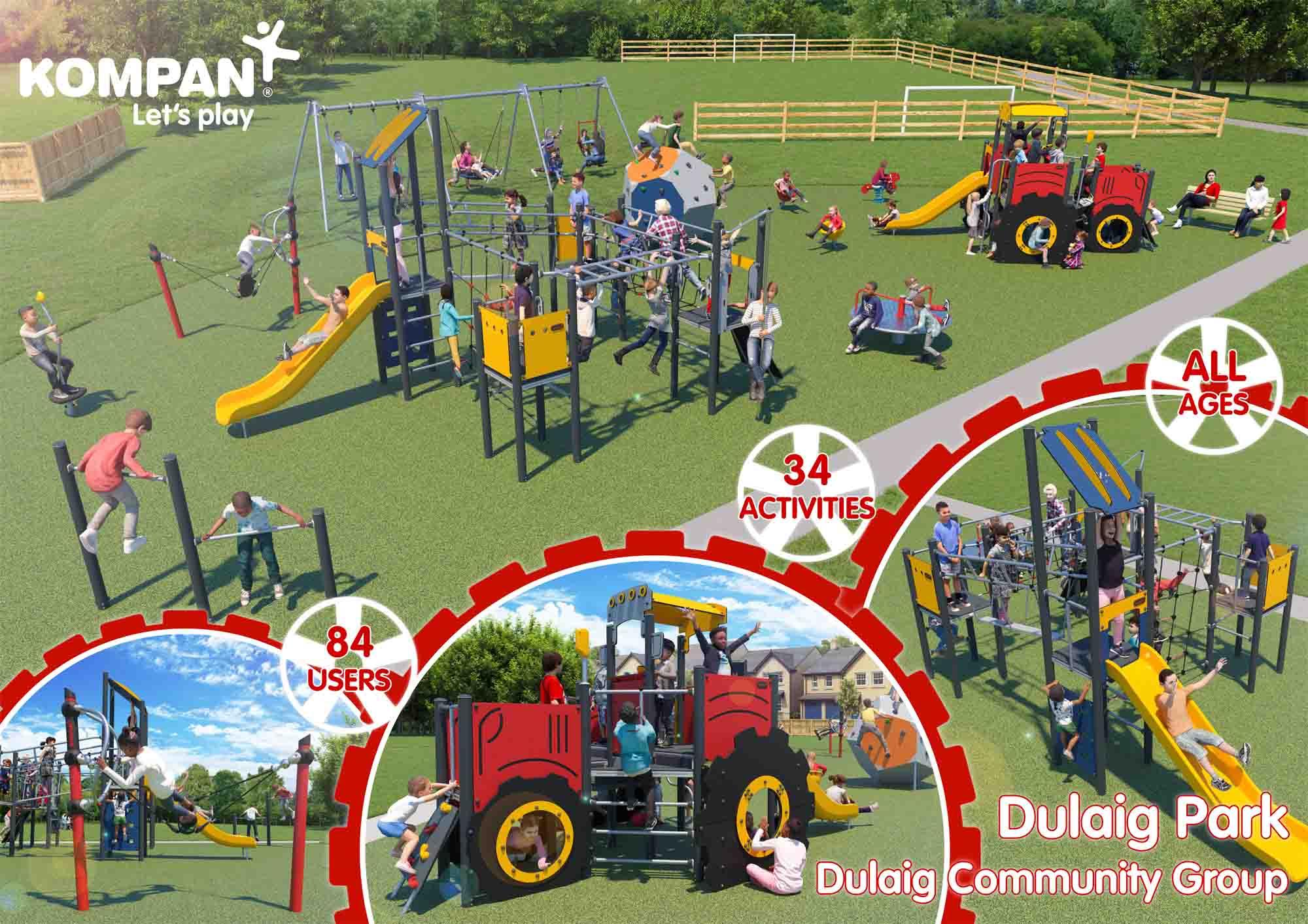 Dulaig Park Layout